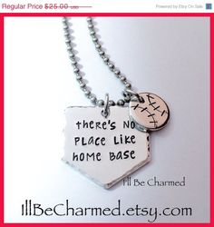On Sale There's No Place Like Home Base Ball Home by ILLBECHARMED