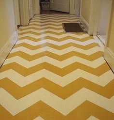 painted floors - unity break room?
