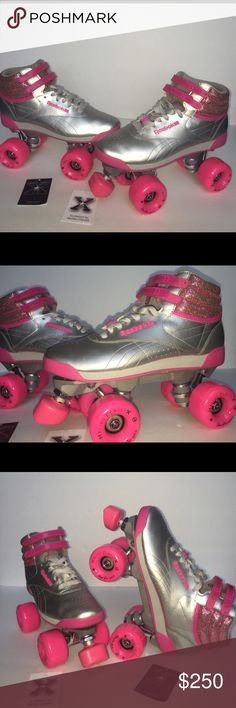 d5a1825be58ae0 Custom Reebok Freestyle Hi Sneaker Rollerskates Custom Designed for  fitness
