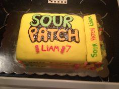 first fondant cake I made