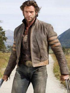 Vintage Wolverine Jacket #HughJackman