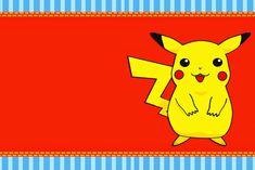 invitaciones de pokemon para imprimir 9