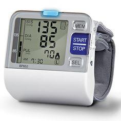 The Best Wrist Blood Pressure Monitor - Hammacher Schlemmer