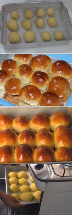 30 Minute Dinner Rolls - Spend With Pennies Nutella Chocolate Cake, Cooking Time, Cooking Recipes, Sweet Dough, Tasty Videos, Salty Foods, Bread Machine Recipes, Pan Bread, Pitta