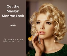 ARE YOU LOOKING FOR THAT PERFECT PARTY MAKEUP? Lipstick has developed throughout the ages, with many iconic women setting the stage for makeup & lipstick fashion. No-one is more iconic then Marilyn Monroe. Check out our blog The Rebel Lipstick - The History of Lipstick & Re-Creating Marilyn Monroe's Look @ https://abbeyjadecosmetics.com.au/rebel-lipstick-history-marilyn-monroe/ for a step-by-step guide on achieving Marilyn's beautiful look. #marilynmonroe #makeover #partymakeup