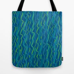 SERPENTINE Tote Bag by Wagner Campelo | Society6