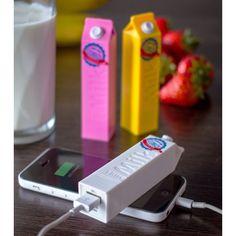 Chargeur externe pour smartphone - Brique de lait