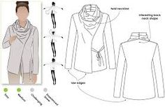 Image result for patterns for ponte roma fabric