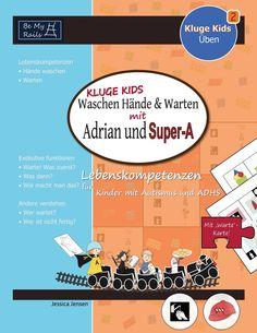 Übungen für Kinder - Autismus ADHS: Hände washen, warten