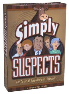 Simply Suspects ** Be sure to check out this awesome product.Note:It is affiliate link to Amazon.