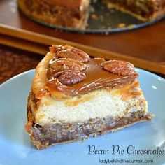 Luscious Dessert for Thanksgiving : ♦ Pecan Pie Cheesecake - It uses vanilla wafers for the Crust, three 8 ounce packages of cream cheese and DULCE DE LECHE in the Garnish (the Topping).  **Note: IF YOU HAVE TRBLE FINDING THE DULCE DE LECHE, IT'S USUALLY STOCKED ON THE HISPANIC AISLE (I VERIFIED THIS) ♦♦