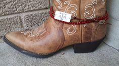 Texas A&M  Boot Jewelry / Wrap Bracelet by TopThatBoot on Etsy, $30.00