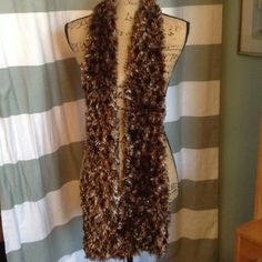 "Final Sale  Cozy Eyelash Scarf Great for fall and winter to add a touch of Paris to all your outfits. 7"" X 68"". Accessories Scarves & Wraps"