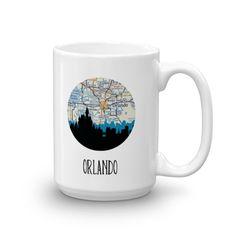 Orlando City Skyline Mug