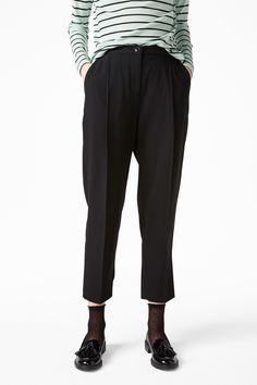 Monki Image 3 of Dressy trousers in Black