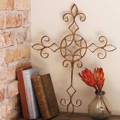 I love the Franciscan Cross. It would look beautiful in any home!