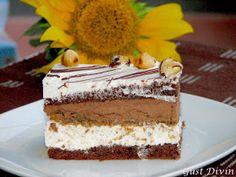 <br > INGREDIENTE<br > Ingrediente 2 blaturi cacao :<br > 250 gr unt<br > 150 gr zahar<br > 4 galbenusuri<br > 200 gr faina<br > 200 ml lapte<br > 3 linguri cacao<br > coaja de lamaie<br > 5 gr Dessert Drinks, Dessert Bars, Sweets Recipes, Cake Recipes, Hawaiian Desserts, Romanian Desserts, Romanian Food, Almond Macaroons, Spanish Desserts