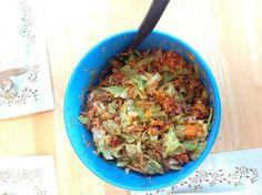 """Taco Salad! """"""""  @allthecooks #recipe #salad #mexican #taco #dinner #easy"""