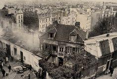 BnF - Paris, les travaux et les jours - incendie au Bateau Lavoir