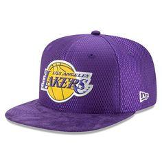 a0fec1bce0ce89 Men's NBA Purple New Era Los Angeles Lakers NBA17 Draft 9FIFTY Snapback