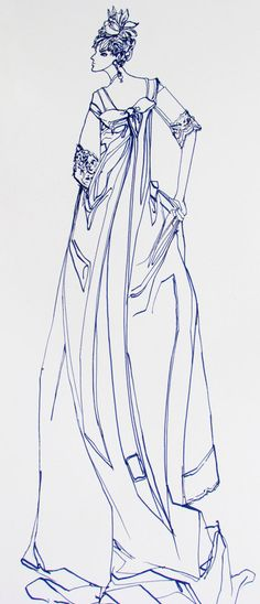 Items similar to Custom Wedding Gown Fashion Illustration on Etsy Fashion Illustration Tutorial, Fashion Illustrations, Illustration Art, Fashion Sketchbook, Art Sketchbook, Fashion Sketches, Paper Fashion, Oct 14, Pencil And Paper