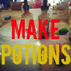 mamascout: exploration lab :: make some potions