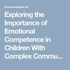 Communicative Competence for Individuals who require Augmentative