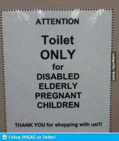 Those poor children...