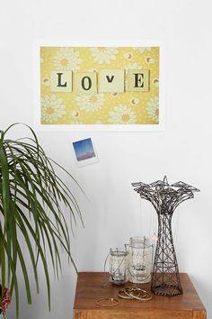 Cassia Beck Love Art Print