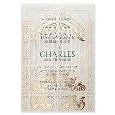 golden gate - wedding invitations