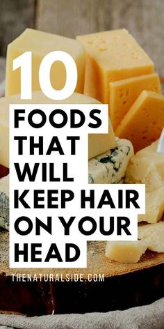 10 Foods That Will Keep Hair On Your Head | Hair Loss | Hair Loss Remedy | Hair Loss Women via thenaturalside.com #haircare #superfoods #hairloss #hairlossremedywomen