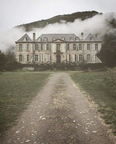 Ominous Cloud Overhead Abandoned mansion...