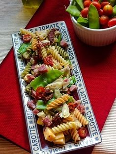 Picnic Pasta Salad - A Summertime Favorite! #theultimateparty – Week 3