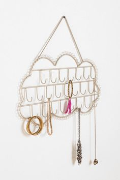 Plum & Bow Hanging Cloud Jewelry Stand