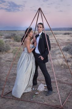 RUSTIC BOHO CRYSTAL WEDDING IDEAS WITH AMETHYST QUARTZ | COPPER PYRAMID ALTAR |