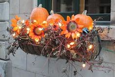 fall window box idea