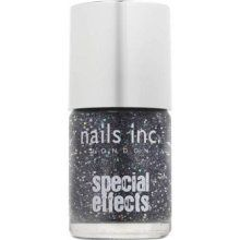 Nails Inc Special Effects Sloane Square Glitter Nail Polish Black Glitter 10 ml Glitter Nail Polish, Nail Polish Colors, Nails Inc, Us Nails, Nail Noel, Golden Tote, How To Wear Flannels, Stocking Fillers, Black Glitter