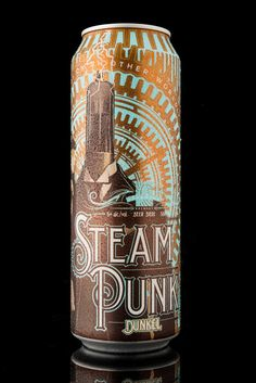 SteamPunk - Product Naming, Branding, Packaging Design on Packaging Design Served