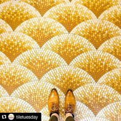 #Repost @tiletuesday  ...because it's always the right time for a regram of an amazing #mosaic #tile #floor by our #Instafriend @parisianfloors! We're enchanted by this scene he so beautifully captured at Boulevard Saint-Germain in #Paris! / #tiletuesday #floors #interior #interiordesign #interiors #interiordesigner #instafloor #idcdesigners #ihavethisthingwithfloors #fromwhereistand #selfeet #mosaics #tiles #carrelage #pattern #tiled #tiling #tilework #tileaddiction #ihavethisthingwithtiles…