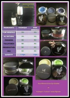 "#Younique vs. Bare minerals why pay more? Join my TEAM in 2014! Younique Make-up Presenters Kit! Join today for $99 and start your own bsuiness. Try it, you will love it! Welcome to the ""On-line Make-up Spa Party""! Join my Team and have your own Make-up party business. So many ways to sell and earn residual income!! Www.youniquebykiley.com"