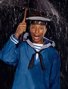 Pharrell Williams para Numéro Homme Spring/Summer 2015