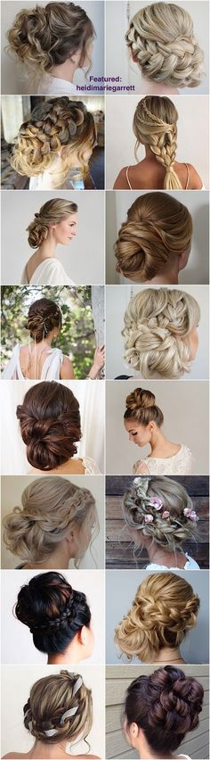 Heidi Marie (Garrett)'s hair styling work is simply amazing. Check MODwedding for more gorgeous wedding hairstyle inspiration.