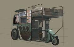 Camper Bike by Henry Lam