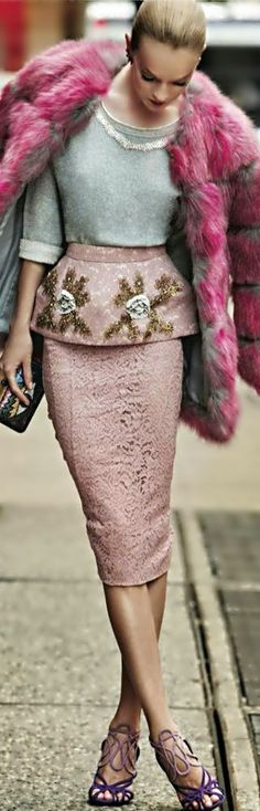 Amazing Lace Skirt