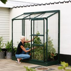 Greenhouse Frame, Lean To Greenhouse, Garden Buildings, Garden Structures, Large Bbq, Polycarbonate Panels, Forest Garden, Bank Holiday Weekend, Room To Grow