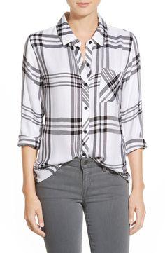 cc08970f Rails 'Hunter' Plaid Shirt Plaid Pattern, Plaid Flannel, Plaid Shirts, Style