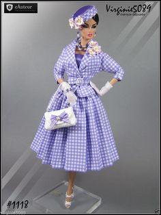 Tenue Outfit Accessoires Pour Barbie Silkstone Vintage Fashion Royalty 1118 | eBay