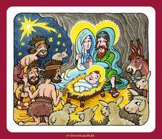 © Barnabus - #Katechizm ▪ Begegnung mit #Jesus - Boże Narodzenie ▪ #Weihnachten.