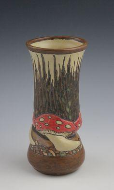 Sassafras Pottery   Sarah Moore   Mushrooms