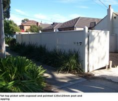 42 best Front Fence Designs images on Pinterest | Front fence, Fence ...